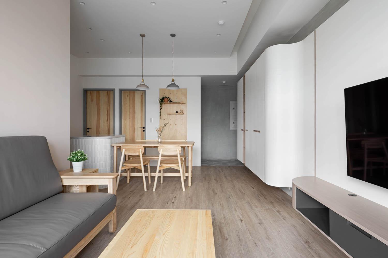 實木家具客餐廳設計